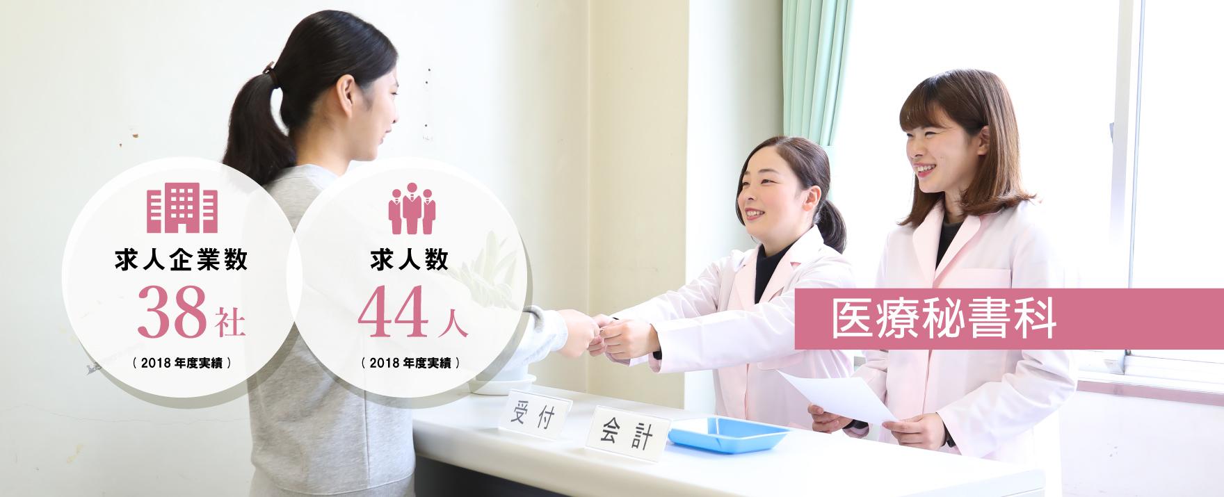 医療秘書科では、1年間で医療秘書(医療事務)を目指す!